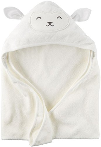 Carter's Hooded Bath Towel - Ivory Lamb (Hooded Towels Carters compare prices)