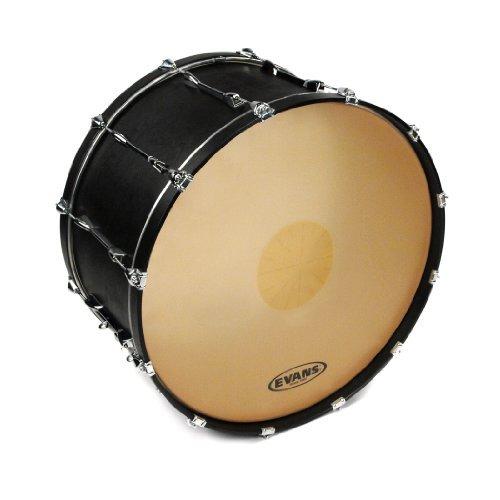 Evans Strata 1000 Power Center Reverse Dot Concert Bass Drum Head, 30 Inch