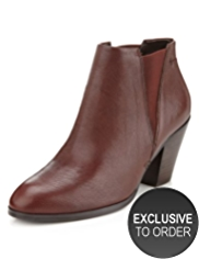 Autograph Leather Slip-On Boots with Insolia®