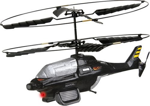 Interactive Toy Concepts BladeRunner BlackGhost 2CH IR Control Helicopter
