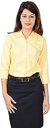 LGC Women's Buttoned Shirt (LGOSYEXXL, Yellow, XXL)