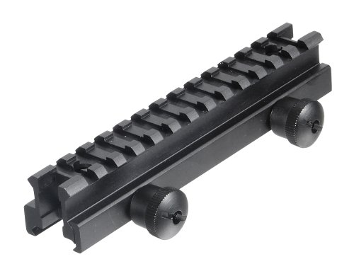 UTG Medium Profile Riser Mount with 13 slots