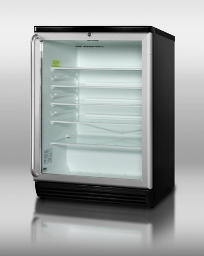 Glass Door Beverage Refrigerators front-25832