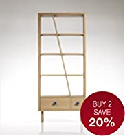 Conran Wilkins Narrow Shelving Unit