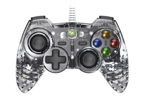 HORI Xbox 360 Gem Pad EX - Diamond Clear (Earth Gems Led compare prices)