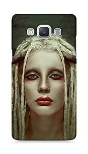 Amez designer printed 3d premium high quality back case cover for Samsung Galaxy A5 (Girl)