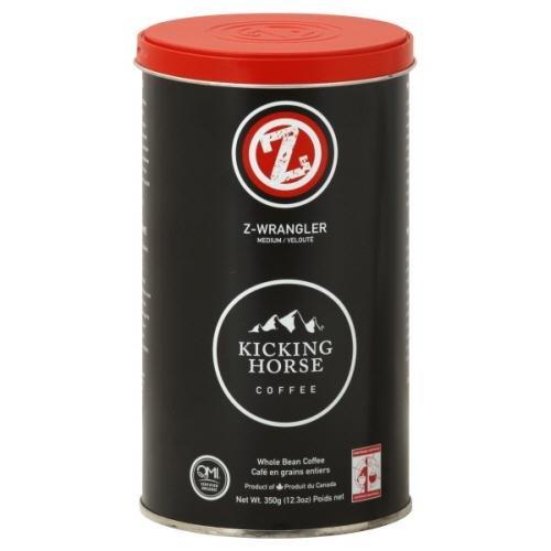 Kicking Horse Coffee Coffee Z Wrangler Med Org 12.3 OZ (Pack of 6)