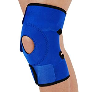 Vktech Outdoor Sports Practical Adjustable Velcro Knee Pad Protector