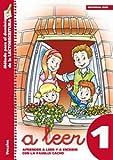 A leer 1: Aprender a leer y escribir con la familia Cacho (Rincón del lenguaje)