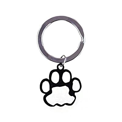 """Small Paw Aluminum Pet ID Tag Free Custom Engraved Dog Cat Personalized 1""""x1"""""""