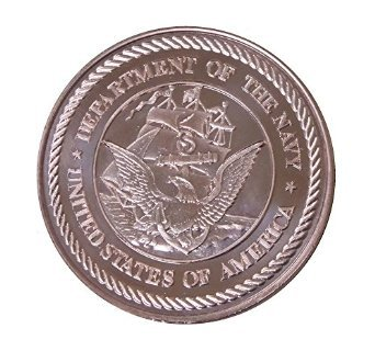 1 Ounce Department of the Army Copper Round