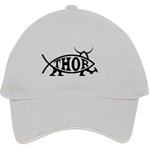 Summer Thor Fish Adjustable Snapback Cap Hat For Men Baseball Cap