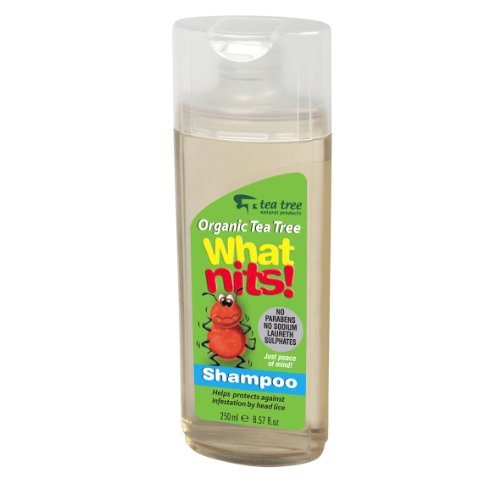 What Nits! Shampoo 250ml - Helps Deter Head Lice