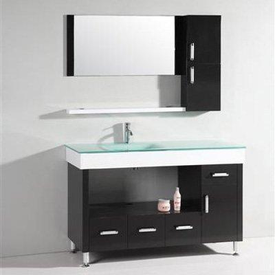 Legion Furniture Yarmouth 55 in. Single Bathroom Vanity Set Size - 22L x 55W x 35.5H in.