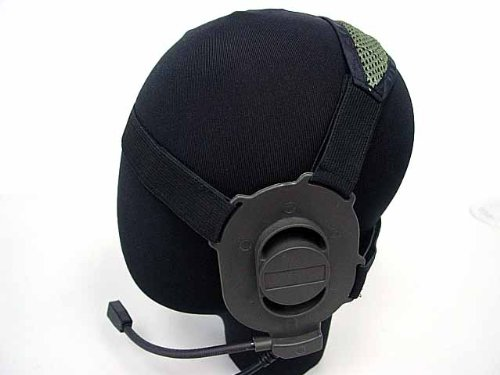 Airsoft Element Elite Ii Headset Od For Kenwood Ptt 2 Pin Radio