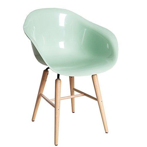 Kare design designklassiker stuhl forum mint mit gro er for Designklassiker stuhl