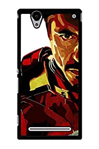 Caseque Iron Man - Tony Stark Back Shell Case Cover For Sony Xperia T2