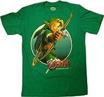 The Legend of Zelda Kelly Green T-shirt (L)