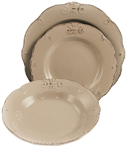 Cheap Villa Deste Home Tivoli 2402330 Duchess Mud Brown Tableware
