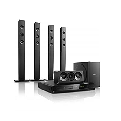 Philips HTD5580/94 Home theatre (Black)