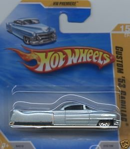 Hot Wheels Custom '53 Cadillac SHORT CARD #15 (2009) - 1