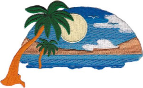 Application Tropical Sunset Patch