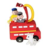 Little london bus toy set with finger puppets and sounds by Aurora (Bus)