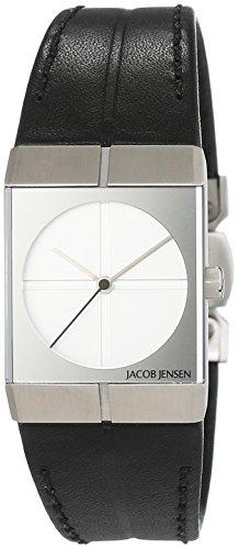 Jacob Jensen Icon Unisex-reloj analógico de cuarzo cuero Jacob Jensen 242