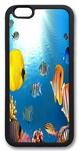 Huahui Under Sea World Beautiful Hot Selling Top Quality Fishs Special Design Cell Phone Cases For Iphone 6 No.19