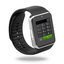 buy Taken Best Wireless Bluetooth Smart Wrist Wrap Watch (Silver Stars)