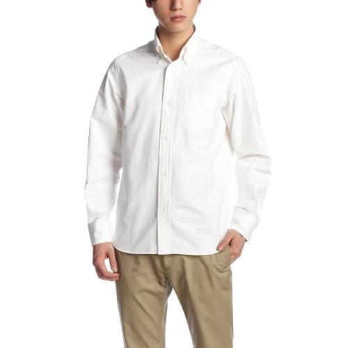 (コーエン)COEN オックススタンダードボタンダウンシャツ 75106023001 01 White S