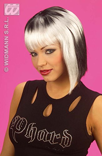 NEO PUNK WIG (white/red/blue)