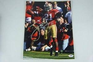 Frank Gore Autographed Photo - 11x14 - PSA/DNA Certified - Autographed NFL Photos
