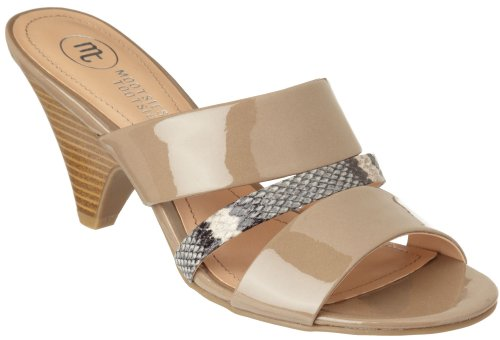 Mootsies Tootsies Yonah Womens Dress Sandals TAUPE 8 5 M Wmns