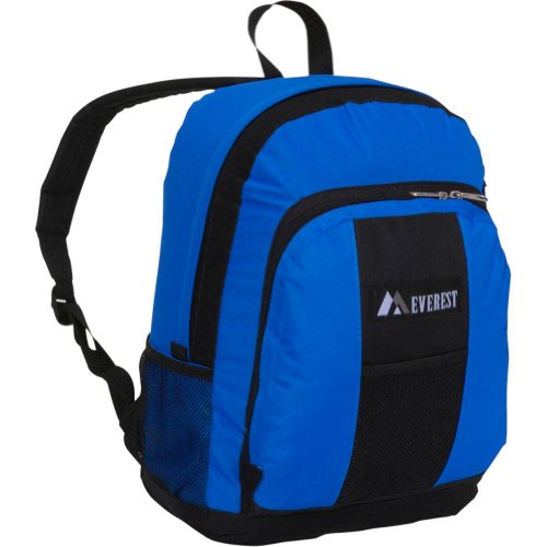 Everest Luggage Backpack  Front and Side Pockets