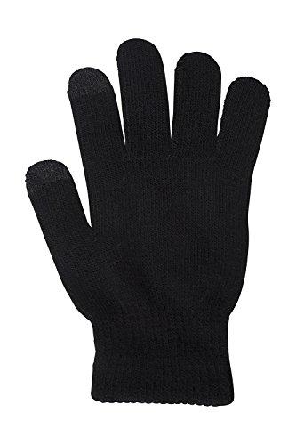 mountain-warehouse-gants-a-ecran-tactile-pour-hommes-magic-paquet-de-deux-noir-taille-unique