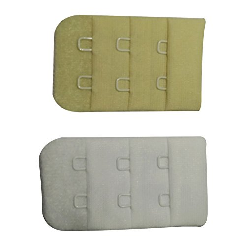 Bralux Bra Hook Extender Skin & White 2x3 Set of 2  available at amazon for Rs.150