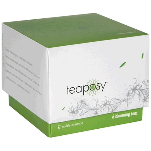 Buy Teaposy Blooming Tea Bulbs, Nobel Essence, 6-Count Boxes (Pack of 2) (Teaposy, Health & Personal Care, Products, Food & Snacks, Beverages, Tea, White Teas)