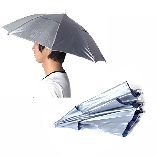 blue-foldable-outdoor-sports-golf-fishing-hunting-camping-sun-brolly-umbrella-bucket-hat-cap