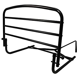 """Stander 30"""" Home Safety Bed Rail - Fall Prevention + Pivots Down Out of the Way + Includes Safety Strap + Lifetime Gaurantee"""