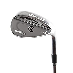 New Cleveland 588 DSG Chrome Sand Wedge 56* FST Uniflex Steel RH