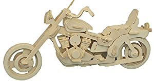 American Motorcycle - Woodcraft Construction Kit