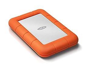 "LaCie Rugged Mini Disque dur externe portable 2,5"" USB 3.0 / USB 2.0 1"