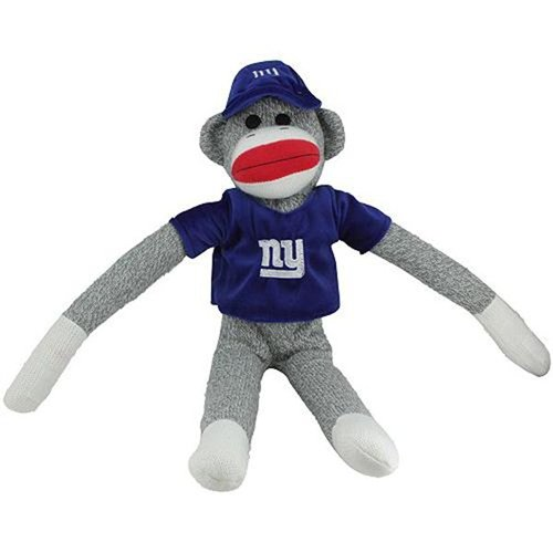 NFL York Giants Uniform Sock Monkey at 'Sock Monkeys'