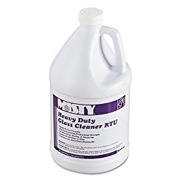 Misty BL0124 1 gallon Non-Ammoniated Heavy Duty Glass Cleaner RTU (Case of 4)