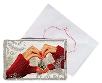 Hand Heart Christmas Card Box Set