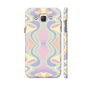 Colorpur Abstract Pastel Colors Designer Mobile Phone Case Back Cover For Samsung Galaxy J5 | Artist: Looly Elzayat