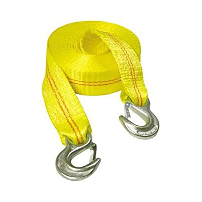 Keeper Emergency 25' Tow Strap With Spring Latch Hooks