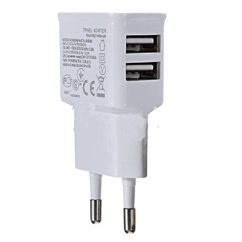 2 port Dual 2A USB EU Plug Wall Charger For iPhone 4S 5 for iPad 4 Mini for SAMSUNG S4 S3 for HTC One Nexus 4
