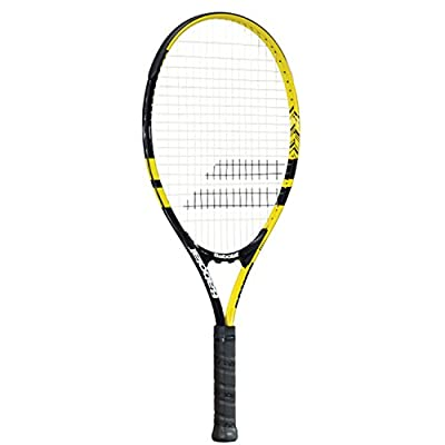 Babolat Comet 25 - Grip 00 Strung Tennis Racquet (Yellow, Black, Weight - 250)
